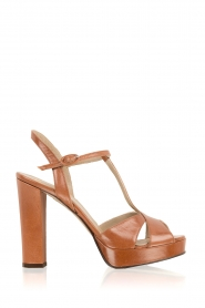 Leather pumps Nadeen | camel