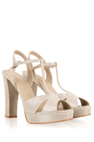 Noe |  Leather pumps Nadeen | grey  | Picture 4
