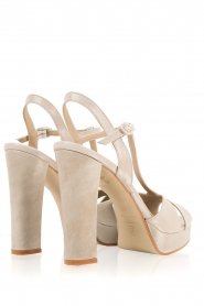 Noe |  Leather pumps Nadeen | grey  | Picture 5