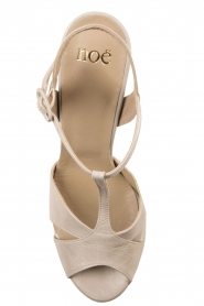 Noe |  Leather pumps Nadeen | grey  | Picture 6