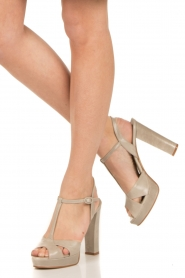 Noe |  Leather pumps Nadeen | grey  | Picture 2
