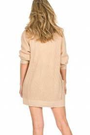 Patrizia Pepe |  Knitted cardigan Olli | beige  | Picture 5