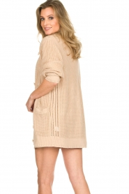 Patrizia Pepe |  Knitted cardigan Olli | beige  | Picture 6