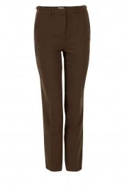 ba&sh | Pantalon Amalia | groen  | Afbeelding 1