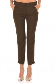 ba&sh | Pantalon Amalia | groen  | Afbeelding 2