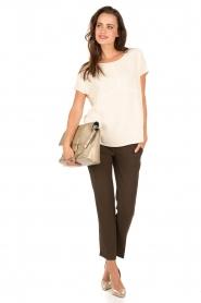 ba&sh | Pantalon Amalia | groen  | Afbeelding 3