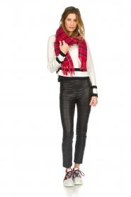 Patrizia Pepe |  Faux leather leggings Alice | black  | Picture 2