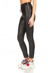 Patrizia Pepe |  Faux leather leggings Alice | black  | Picture 4