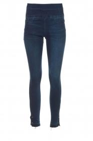 Patrizia Pepe |  High waist jeans Raq | blue  | Picture 1