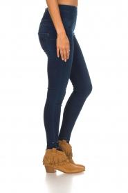 Patrizia Pepe |  High waist jeans Raq | blue  | Picture 4