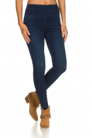 Patrizia Pepe |  High waist jeans Raq | blue  | Picture 2