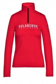 Goldbergh |  Ski pully with logo Mandy | red  | Picture 1