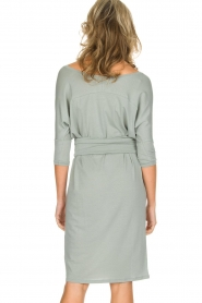 Blaumax |  Dress with waist band Mila | soft blue  | Picture 5