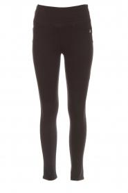 Patrizia Pepe |  High waist jeans Norelle | black  | Picture 1