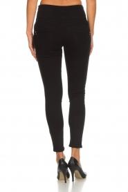 Patrizia Pepe |  High waist jeans Norelle | black  | Picture 5