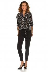 Patrizia Pepe |  High waist jeans Norelle | black  | Picture 3