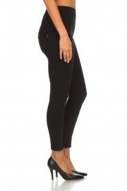 Patrizia Pepe |  High waist jeans Norelle | black  | Picture 4