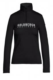 Goldbergh |  Ski pully with logo Mandy | black  | Picture 1