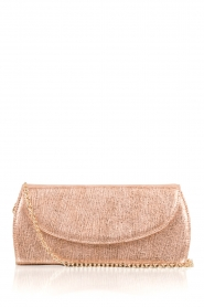 Leren clutch Nuwa | rose goud