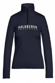 Goldbergh |  Ski pully with logo Mandy | blue  | Picture 1