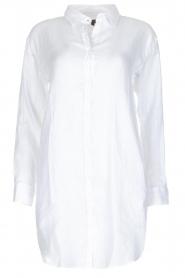 BLAUMAX | Linnen blouse Marlyne | Wit  | Afbeelding 1
