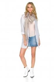 BLAUMAX | Linnen blouse Marlyne | Wit  | Afbeelding 3