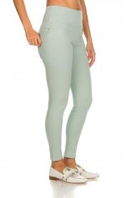 Patrizia Pepe | High waist jeans Norelle | blauw  | Afbeelding 4