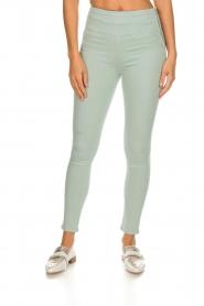 Patrizia Pepe | High waist jeans Norelle | blauw  | Afbeelding 2
