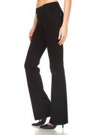 Patrizia Pepe |  Flared jeans Mila | black  | Picture 4