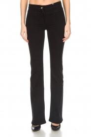 Patrizia Pepe | Flared jeans Mila | zwart  | Afbeelding 3