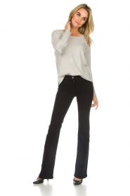 Patrizia Pepe | Flared jeans Mila | zwart  | Afbeelding 2