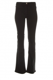 Flared jeans Mila | black