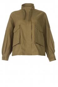 JC Sophie |  | Cotton boxy jacket Jenson | green  | Picture 1