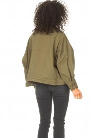 JC Sophie |  | Cotton boxy jacket Jenson | green  | Picture 7