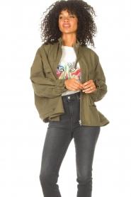 JC Sophie |  | Cotton boxy jacket Jenson | green  | Picture 2