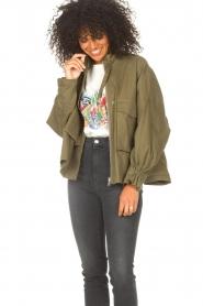 JC Sophie |  | Cotton boxy jacket Jenson | green  | Picture 4