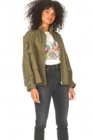 JC Sophie |  | Cotton boxy jacket Jenson | green  | Picture 5