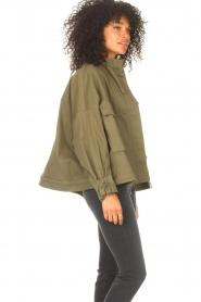JC Sophie |  | Cotton boxy jacket Jenson | green  | Picture 6