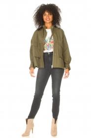 JC Sophie |  | Cotton boxy jacket Jenson | green  | Picture 3