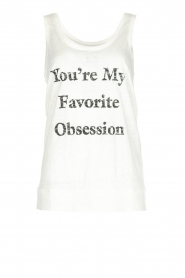 Tanktop Obsession | wit