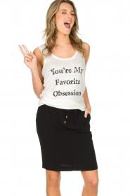 Zoe Karssen | Tanktop Obsession | wit  | Afbeelding 2