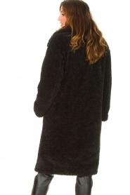 JC Sophie |  Faux fur coat Judy | black  | Picture 7