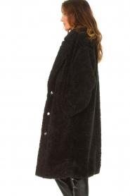JC Sophie |  Faux fur coat Judy | black  | Picture 6