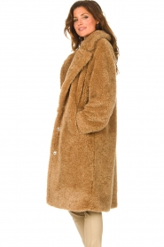 JC Sophie |  Faux fur coat Judy | camel  | Picture 6