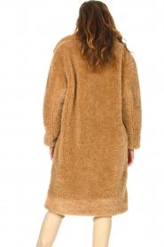 JC Sophie |  Faux fur coat Judy | camel  | Picture 7