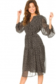JC Sophie |  Midi dress with print Juno | cobalt  | Picture 5