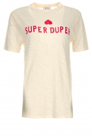 T-shirt Super duper | naturel