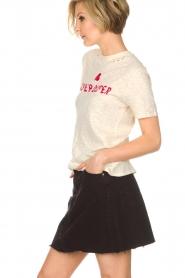 Zoe Karssen | T-shirt Super duper | naturel  | Afbeelding 3