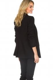 Patrizia Pepe |  Classic blazer Zoe | black  | Picture 6
