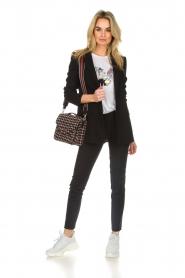 Patrizia Pepe |  Classic blazer Zoe | black  | Picture 3